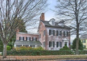 Famous Cannonball House, St Michael's MD
