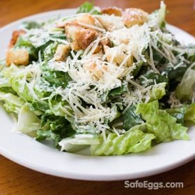 Safe Caesar Salad Dressing