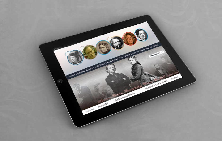 Victoria Woodhull ipad app
