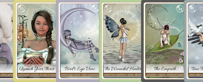Psychic Visionary Launches IndieGoGo Healers of the Earth Oracle Cards