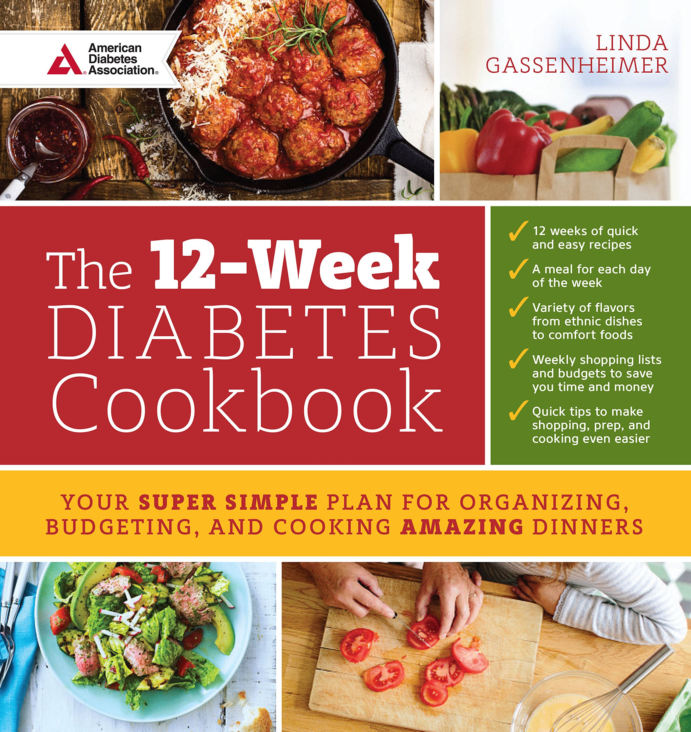 12-Week Diabetes Cookbook by Linda Gassenheimer