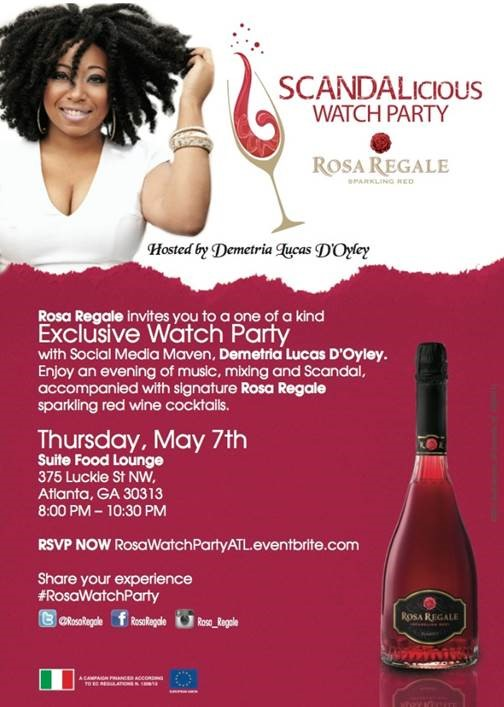 Scandalicious Watch Party - Atlanta