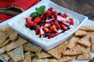 Strawberry Mascarpone Dip
