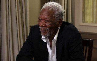 "Morgan Freeman sat down with Larry King on the Emmy-nominated series ""Larry King Now"""